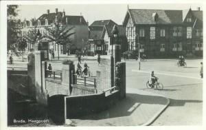 Haagpoortburg Aalst Breda Haagpoort v_g_ 1948